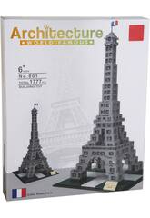 Blocchi Costruzioni Torre Eiffel 1777 pezzi