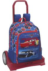 Sac à Dos avec trolley Èvolutive Cars 3 Safta 611809860