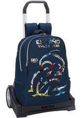 Mochila con Carro Evolution El Niño Splash Safta 611832860