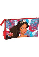 Porte-tout Triple Plat Elena d'Avalor Secret Perona 55179