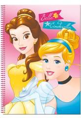 Bloc A4 80 Feuilles Princesses Gift Perona 54260