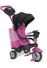 Triciclo 4 in 1 Swing DLX Rosa SmarTrike 6500600