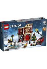 Lego Creator Expert Caserma dei pompieri del villaggio invernale 10263