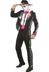 Disfraz Día de los Muertos Hombre Talla M