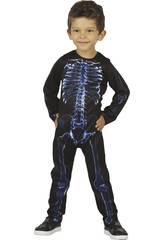 Disfraz Bebé Esqueleto Rayos X Talla S