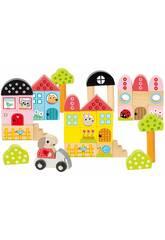 Pack 40 Pezzi Architettura Coniglietto Diset 50201