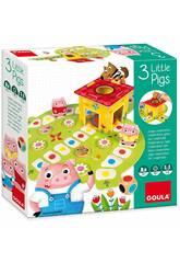 Les Trois Petits Cochons Jeu en Mode Coopératif Diset 53146