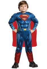 Déguisement enfant SUPERMAN deluxe Taille S Rubies 640813-S
