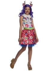 Costume Bimba Enchantimals Danessa Cervo Classic M Rubies 641215-M