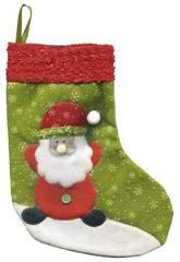 Meia Santa Claus Deluxe 25 cm. Rubies S2509