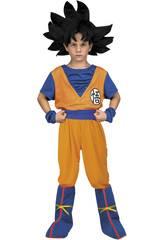 Costume Bimbo M Yo Quiero Ser Goku