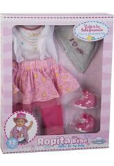 Vestito Bambola 43-46 cm. con Accessori 6 pezzi Love