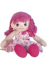 Puppentücher Rosa Kleid 40 cm.