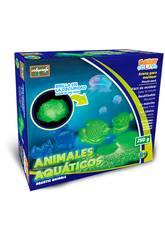 Arena Para Moldear Animales Acuaticos 250 gramos
