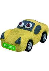 Schiuma per Modellare Auto Gialla