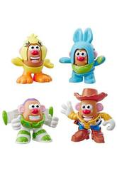 Toy Story 4 Mr. Potato Mini Pack 4 Figuras Hasbro E3065