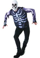 Maglietta Skull Trooper Fortnite Taglia Tween