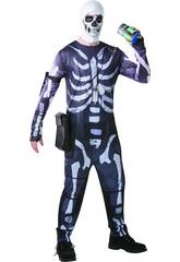 Disfraz Adulto Skull Trooper Fortnite Talla L