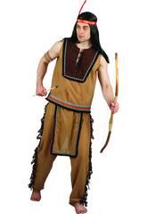 Kostüm Indianer Mann Größe L