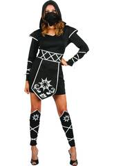 Déguisement Ninja Femme Taille S