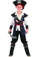 Déguisement Pirate Garçon Taille XL