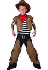 Disfraz Cowboy Niño Talla M