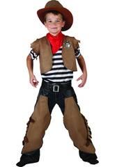 Disfraz Cowboy Niño Talla L