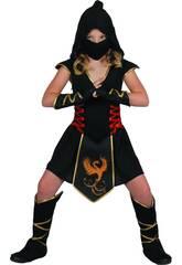 Disfraz Ninja Niña Talla XL