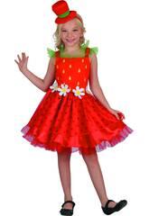 Kostüm Erdbeere Mädchen Größe M