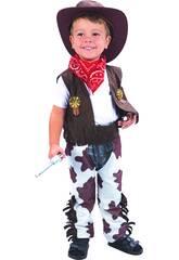 Disfarce Cowboy Bebé Tamanho S