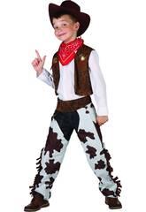 Disfraz Vaquero Niño Talla XL