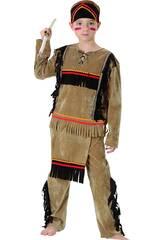 Kostüm Indianer Junge Größe XL