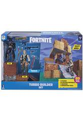 Fortnite Set Turbo Builder com 2 Figuras, Materiais, Armas e Picos