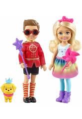 Barbie Dreamtopia Pack Chelsea et Otto Mattel FRB14
