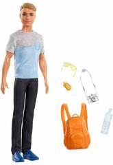Ken Wir Gehen Auf Reise Mattel FWV15