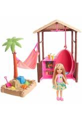 Barbie Chelsea e a Sua Cabana Da Praia Mattel FWV24