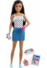 Barbie Skipper Babysitterss com Acessórios Mattel FHY89
