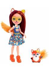 Enchantimals Felicity Fox y Flick Mattel FXM71
