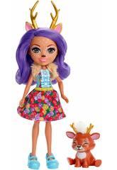 Enchantimals Danessa Deer y Sprint Mattel FXM75