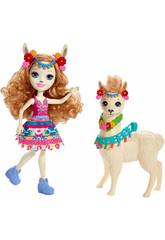 Enchantimals Lluella Llama und Fleecy Mattel FRH42