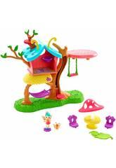 Enchantimals Casinha da Árvore da Baxi Butterfly Mattel GBX08