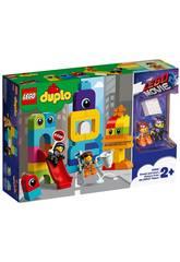 Lego Duplo Movie 2 Visitas de Emmet y Lucy desde el Planeta Duplo 10895