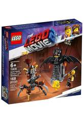 Lego Movie 2 Batman y Barbagris Preparados para Luchar 70836