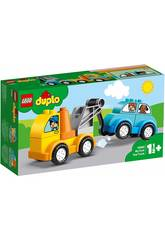 Lego Duplo Mi Primer Camión Grúa 10883