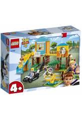 Lego Juniors Toy Story 4 Aventura no Parque dos Jogos de Buzz e Bo Peep 10768