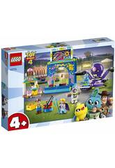 Lego Toy Story 4 Buzz e Woody e la mania del carnevale 10770