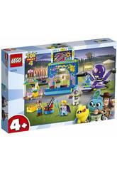 Lego Juniors Toy Story 4 Buzz & Woodys Jahrmarktspaß 10770