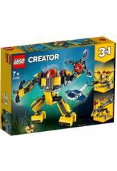 Lego Creator 3 en 1 Robot Sous-marin 31090