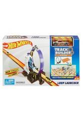 Hot Wheels Track Builder Looping avec Lanceur Mattel DMH51
