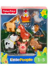 Fisher Price Little People Pack Figurines Animaux Ferme Mattel GFL21
